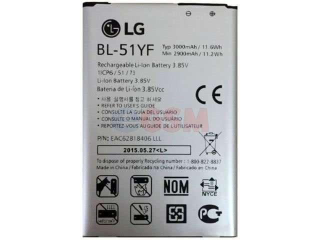 acumulator bl-51yf pentru lg h815 g4