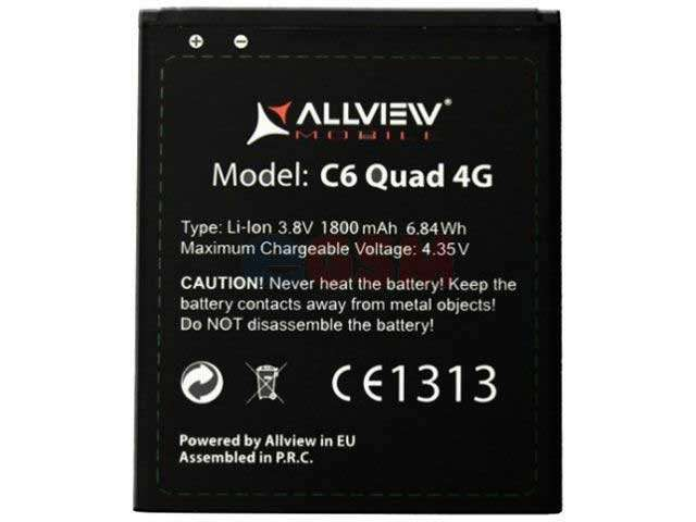 Acumulator Allview C6 Quad 4G original