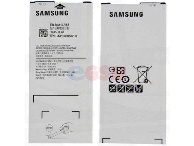 Acumulator Samsung EB-BA510ABE original