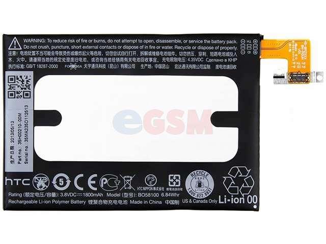 Acumulator HTC BO58100 original pentru HTC 601e, HTC One Mini M4