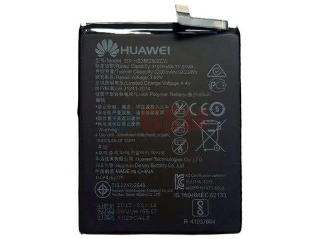 Acumulator Huawei HB386280ECW ORIGINAL pentru Huawei Honor 9 si Huawei P10