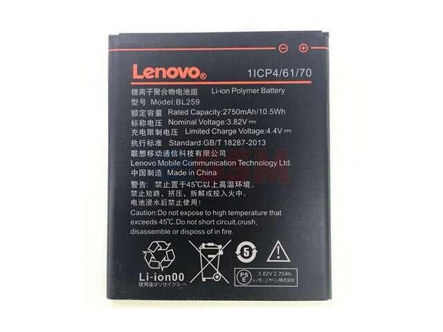 Acumulator Lenovo BL259 pentru Lenovo Vibe K5 Plus original