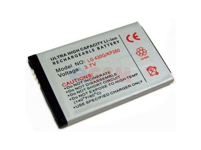 Acumulator LGIP-430G pentru LG KP260, KF390, CU720 Shine, CF360, GU230 Dimsun, GM750, KM555E, KS500, KS660, GW520