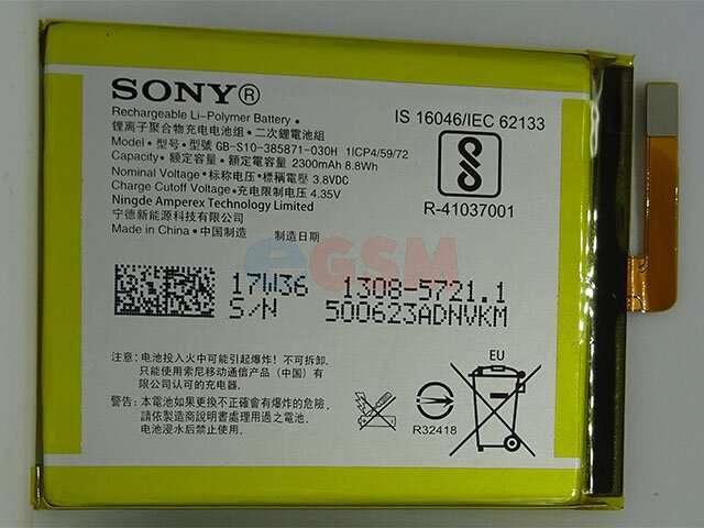 Acumulator Sony LIS1618ERPC ORIGINAL pentru Sony Xperia XA, Xperia XA Dual, Xperia XA1 si Xperia E5