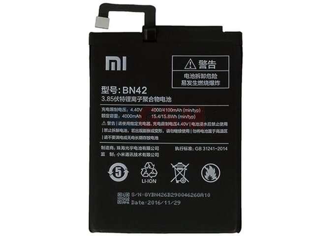 Acumulator Xiaomi BN42 original pentru Xiaomi Redmi 4 (4X)