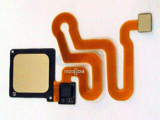 Ansamblu buton meniu, home Huawei P9, EVA-L19, EVA-L29, EVA-L09 auriu