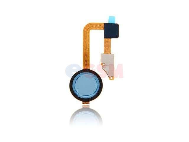 Ansamblu buton meniu, home LG G6, H870 albastru