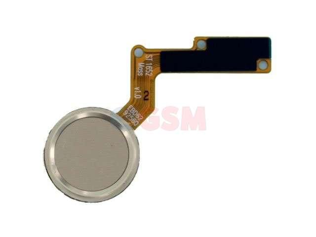 Ansamblu buton meniu, home LG X400, M250N, K10 2017 auriu