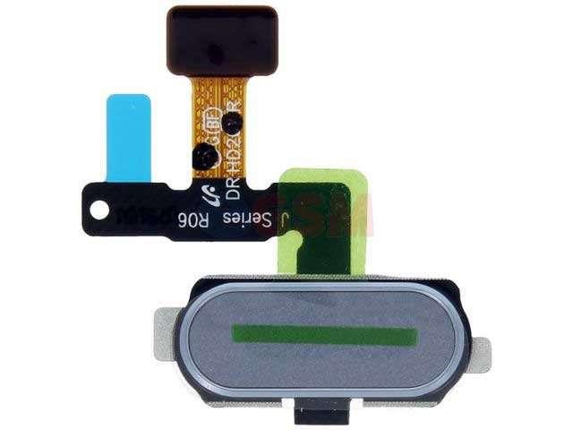 Ansamblu buton meniu, home Samsung SM-J530F, SM-J730F argintiu