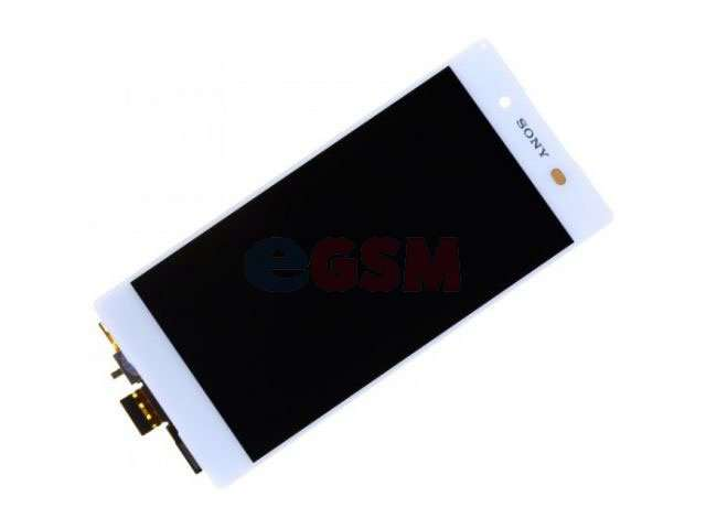 Display cu touchscreen Sony E6533, Xperia Z3 Plus, E6553, Z3 Plus Dual, Xperia Z4 alb