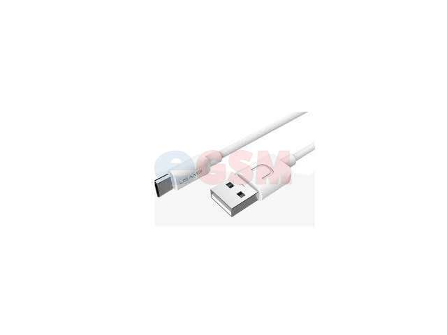 Cablu date Usams U-Turn series micro-USB US-SJ098 alb