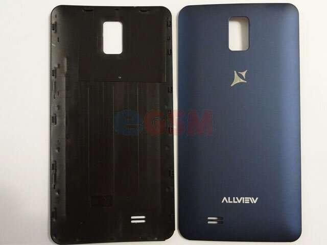 Capac baterie Allview P6 Qmax albastru ORIGINAL