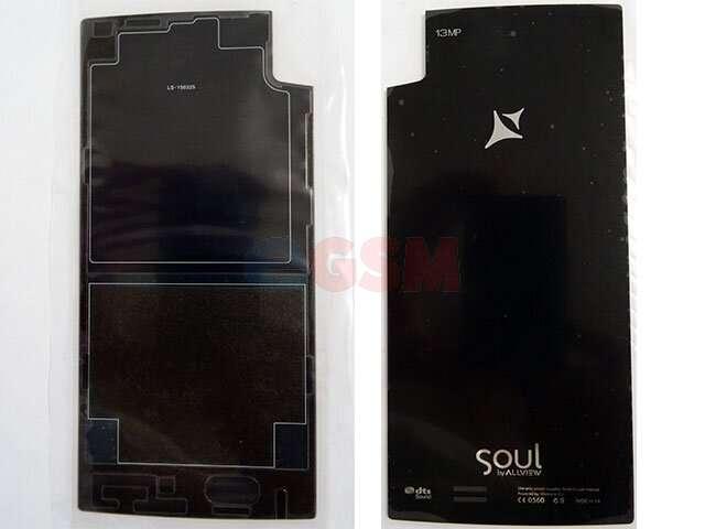 Capac baterie Allview X2 Soul negru ORIGINAL
