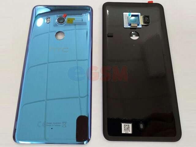 Capac baterie HTC U11 Plus albastru DIN STICLA