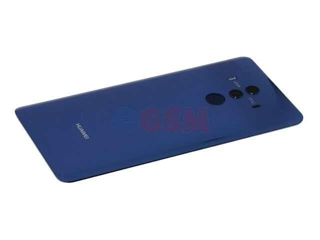 Capac baterie Huawei Mate 10 Pro, BLA-L09, BLA-L29 albastru DIN STICLA