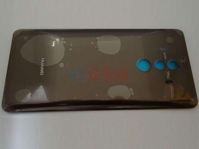 Capac baterie Huawei Mate 10 Pro, BLA-L09, BLA-L29 maro DIN STICLA