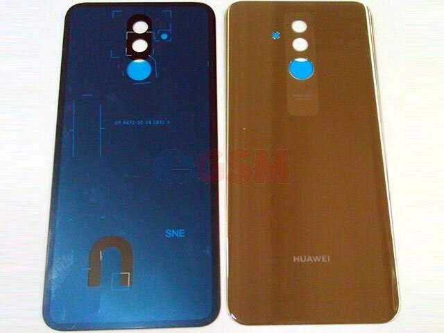 Capac baterie Huawei Mate 20 Lite, SNE-LX1 DS, SNE-LX3 DS, INE-LX2 auriu DIN STICLA