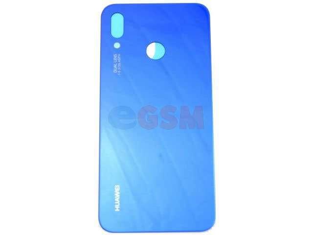 Capac baterie Huawei P20 Lite, ANE-LX1 albastru DIN STICLA