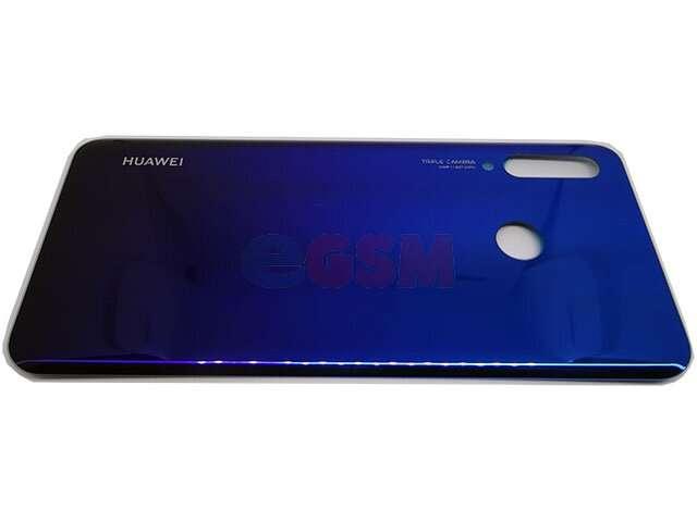 capac baterie huawei p30 lite albastru din sticla