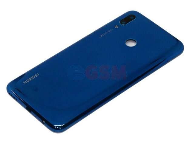 Capac baterie albastru (sapphire blue) Huawei P smart 2019, POT-LX1, POT-LX1AF, POT-LX2J, POT-LX1RUA, POT-LX3