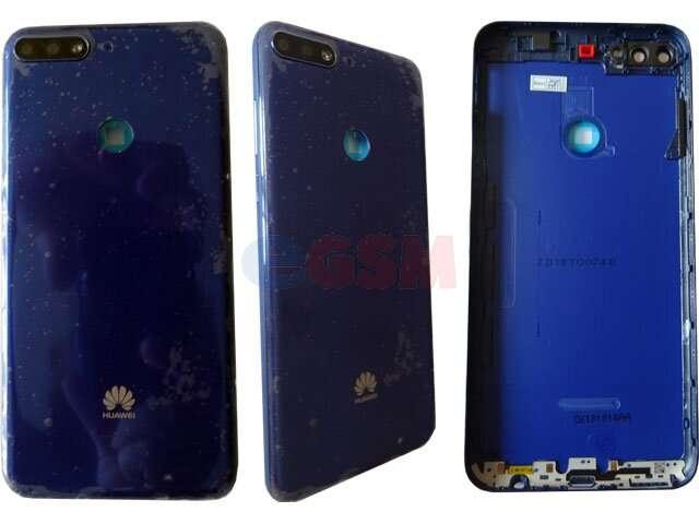 capac baterie huawei y7 prime 2018 ldn-lx1 ldn-lx2 ldn-l21 ldn-l22 albastru