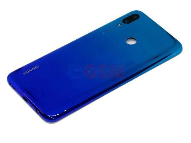 Capac baterie mov (aurora blue) Huawei P smart 2019, POT-LX1, POT-LX1AF, POT-LX2J, POT-LX1RUA, POT-LX3