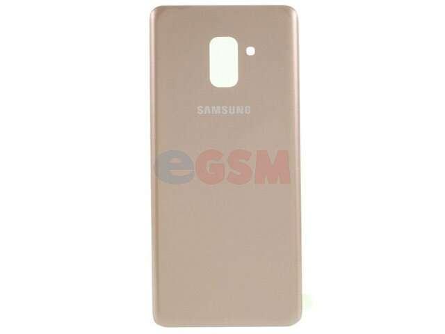 Capac baterie Samsung SM-A530F Galaxy A8 2018 auriu DIN STICLA