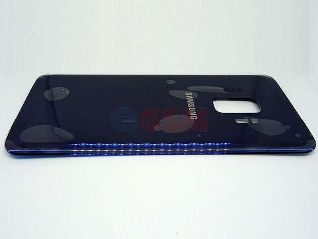 Capac baterie Samsung SM-G960F Galaxy S9 albastru DIN STICLA