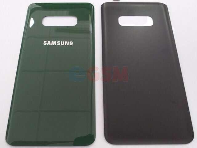 Capac baterie Samsung SM-G970F Galaxy S10E verde-turcoaz DIN STICLA