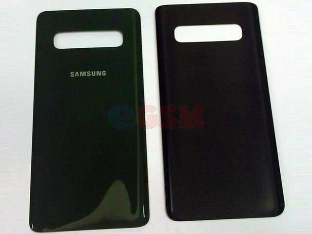 Capac baterie Samsung SM-G973F Galaxy S10 verde-turcoaz DIN STICLA