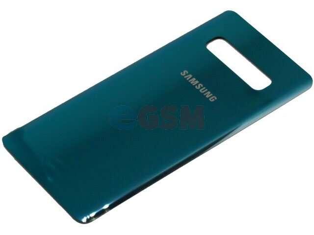 Capac baterie Samsung SM-G975F Galaxy S10+ turcoaz DIN STICLA