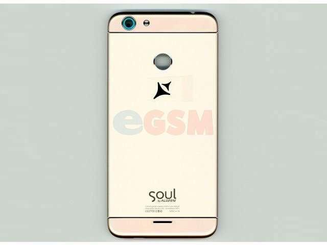capac spate allview x4 soul mini auriu original