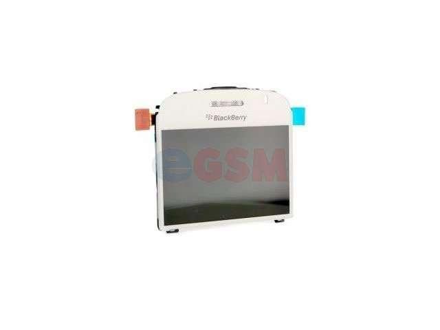 Display cu geam BlackBerry Bold 9000 versiunea 003/004 alb original