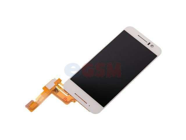 Display cu touchscreen HTC One S9, S9u alb