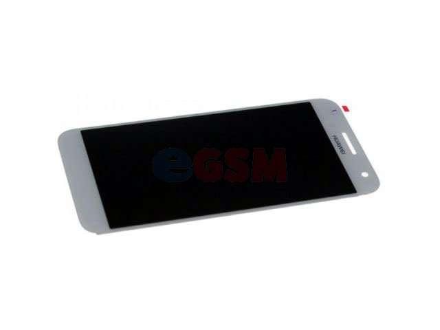 Display cu touchscreen Huawei Ascend G7 alb
