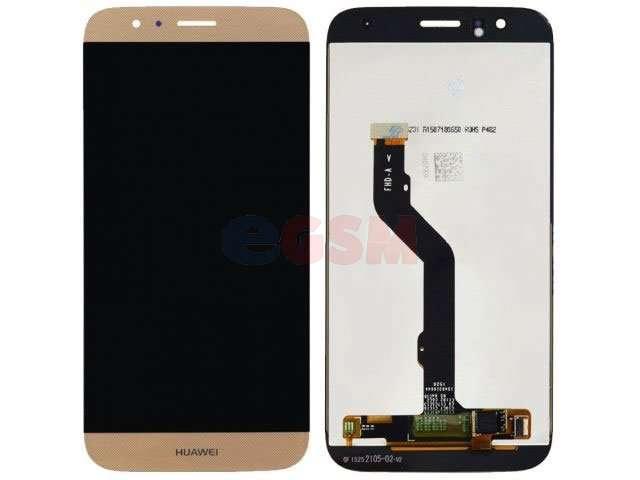 Display cu touchscreen Huawei G8, GX8 auriu