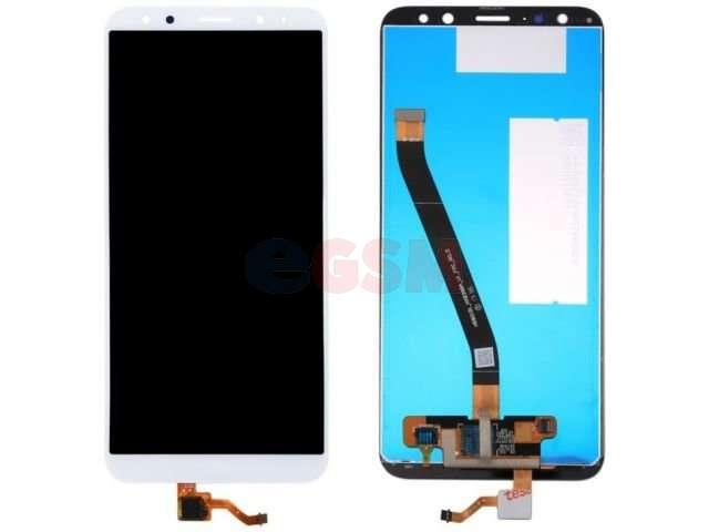 Display cu touchscreen Huawei Mate 10 Lite, RNE-L01, RNE-L21, RNE-L23, G10 alb