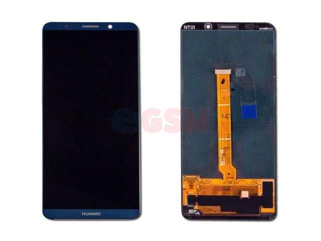 Display cu touchscreen Huawei Mate 10 Pro, BLA-L09, BLA-L29 albastru