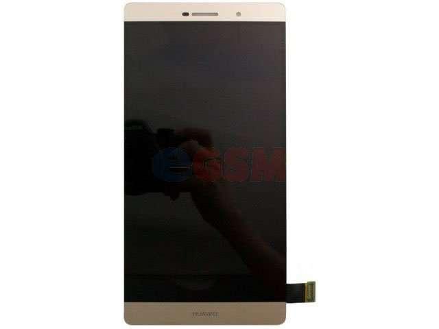 Display cu touchscreen Huawei P8 max auriu
