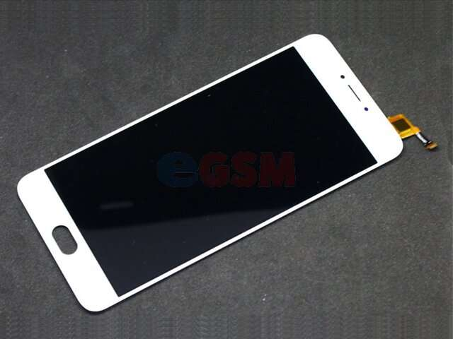 Display cu touchscreen Meizu L681H, M3 Note alb