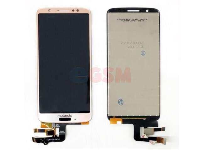 Display cu touchscreen Motorola Moto G6 roz
