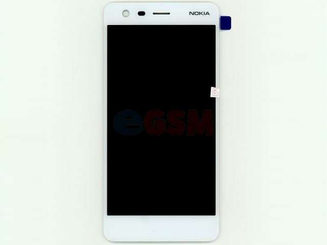 Display cu touchscreen Nokia 2 TA-1029 alb