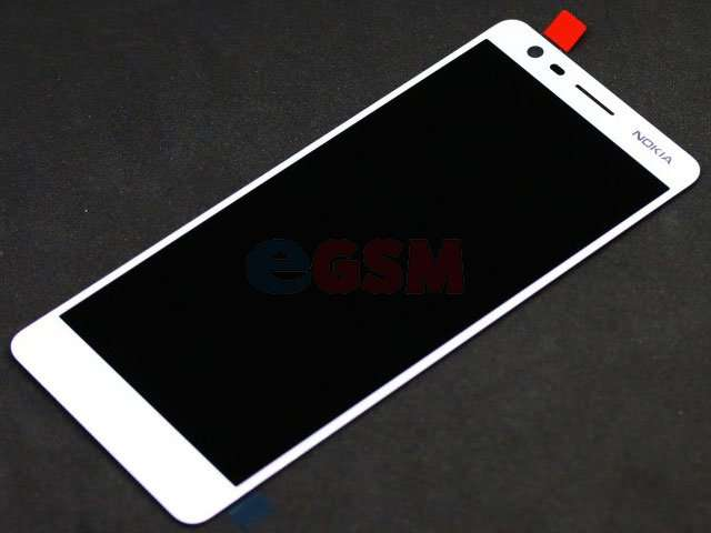 Display cu touchscreen Nokia 3.1, TA-1049, TA-1057, TA-1063, TA-1070, TA-1074 alb