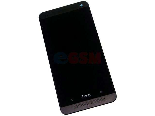 Display cu touchscreen si rama HTC One Dual Sim, 802w