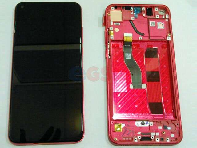 display cu touchscreen si rama huawei honor view 20 pct-l29b rosu