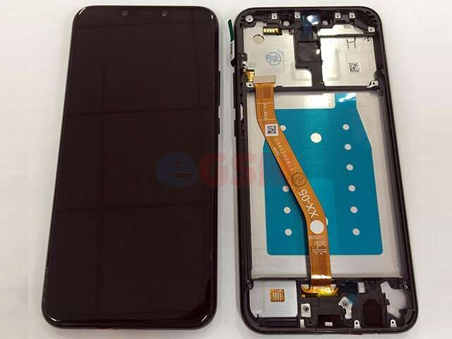 Display cu touchscreen si rama Huawei Mate 20 Lite, SNE-LX1 DS, SNE-LX3 DS, INE-LX2