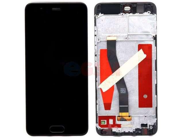 Display cu touchscreen si rama Huawei P10, VTR-L09, VTR-L29 negru