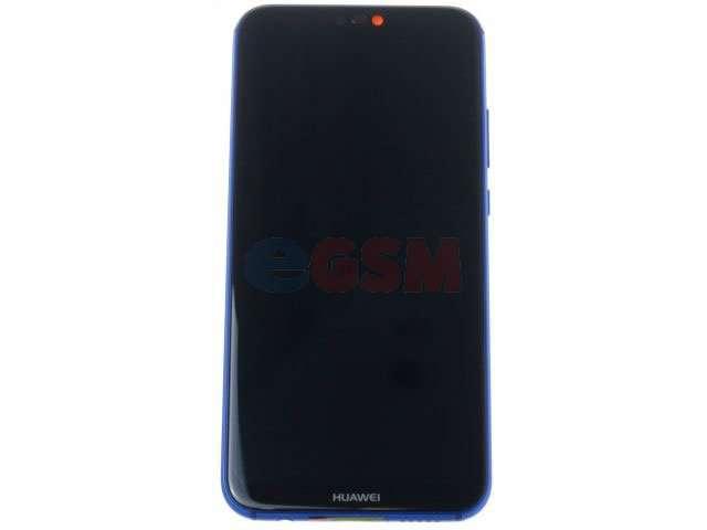 display cu touchscreen si rama huawei p20 lite ane-lx1 albastru