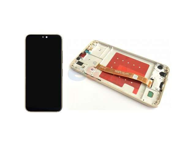 display cu touchscreen si rama huawei p20 lite ane-lx1 auriu