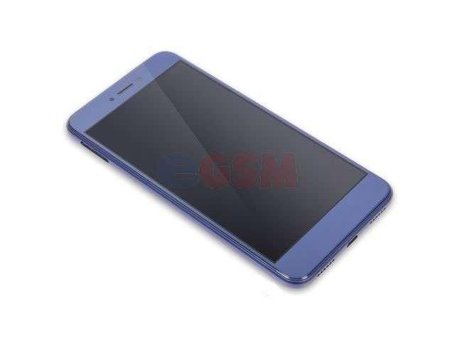 Display cu touchscreen si rama Huawei P8 lite 2017, P9 Lite 2017, Honor 8 Lite, Nova Lite, GR3 2017 albastru
